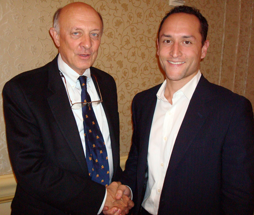CIA Director James Woolsey, Larry Maher