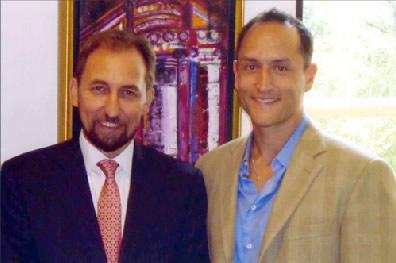 Prince Zeid Raad Al-Hussein, Larry Maher