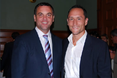 Tim Hudak MP, Larry Maher